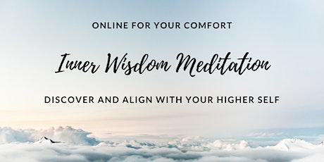 Inner Wisdom Meditation Online Class - Self Discovery tickets