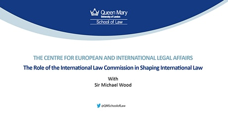 The Role of the International Law Commission in Shaping International Law tickets