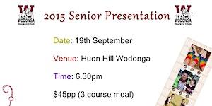 2015 Senior Presentation Night