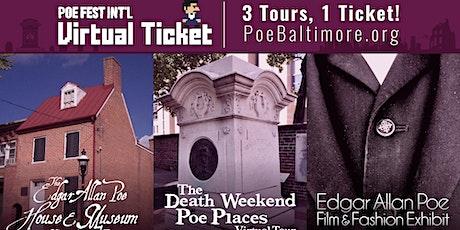 VIRTUAL FESTIVAL PASS, 2021 International Edgar Allan Poe Festival & Awards tickets