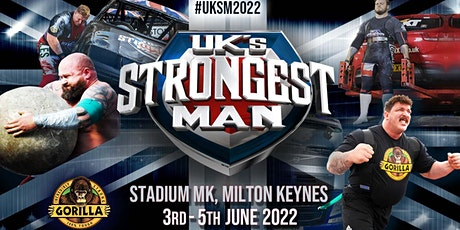UK's Strongest Man 2022, DAY 1 tickets