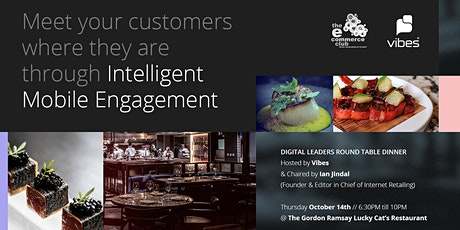 Meet Your Customers Where They Are Through Intelligent Mobile Engagement tickets