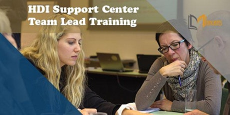 HDI Support Center Team Lead  2 Days Virtual  Live Training in Dundee tickets