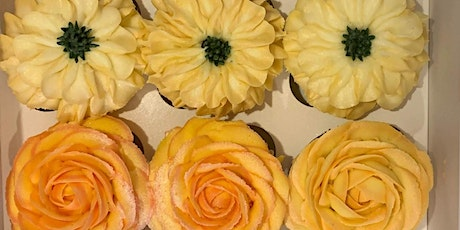 Learn, ice and take away stunning cupcakes - workshop with Naomi Chapman tickets