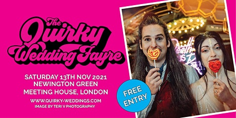 The Quirky Wedding Fayre @ Newington Green Meeting House tickets