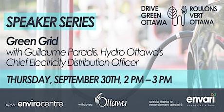Hydro Ottawa and the Green Grid (EN/FR) tickets