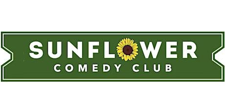 Sunflower comedy Club. October 31st. ha ha Halloween tickets