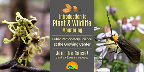 Introduction to Plant & Wildlife Monitoring for Conservation tickets