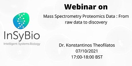 Mass Spectrometry Proteomics Data : From raw data to discovery tickets