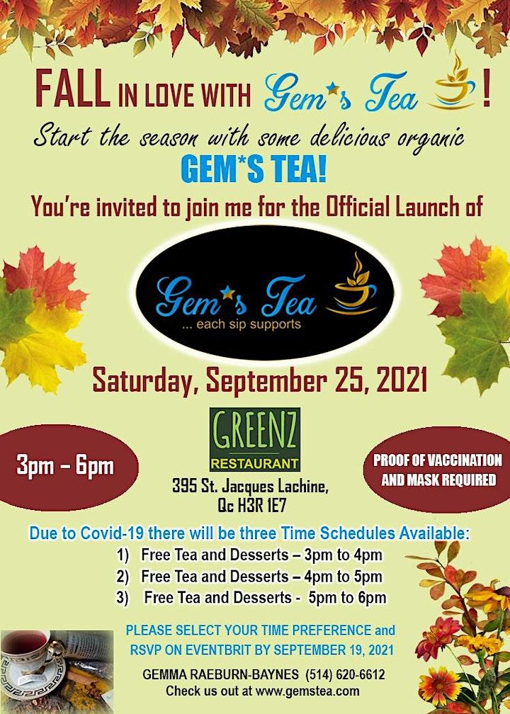 Launch of Gems Tea image