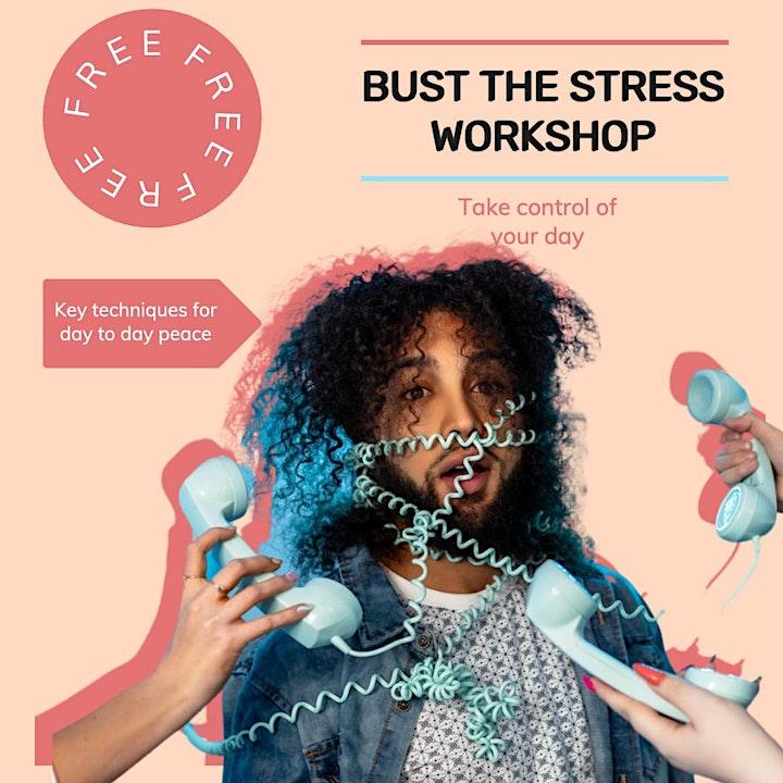 FREE: Bust the Stress, Stress Management Workshop image