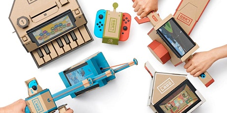 Weekend van de Wetenschap: Bouwen met Nintendo Labo tickets