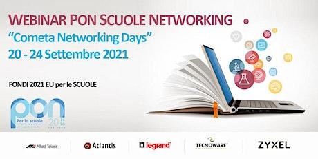 WEBINAR PON SCUOLE NETWORKING - 20-24 Settembre biglietti
