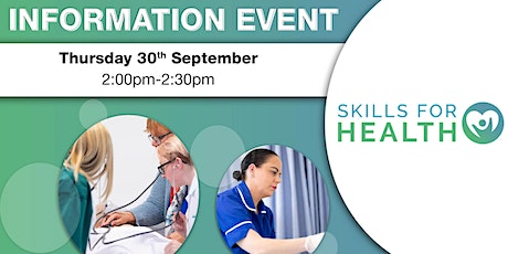 Skills for Health - Information Event tickets