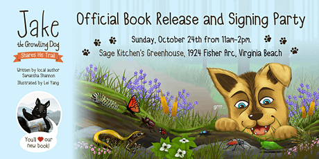 Jake the Growling Dog's Free  Children's Book Release and Signing Party! tickets