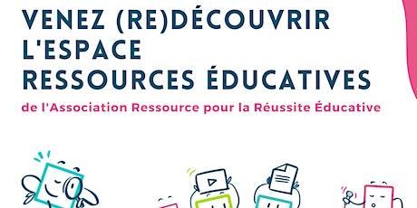 WEBINAIRE - Ressources pour accompagner les enfants dans leur apprentissage billets