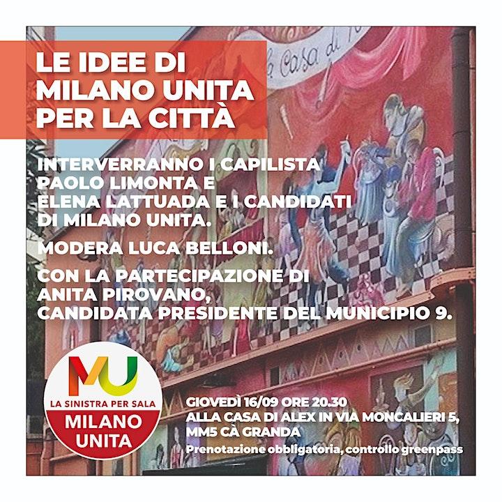 Immagine Le idee di Milano Unita per la città