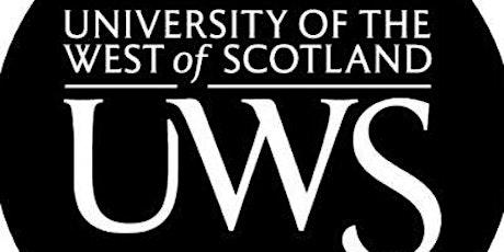 UWS Campus  Tours Ayr CEPS tickets