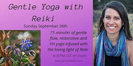 Gentle Yoga with Reiki tickets