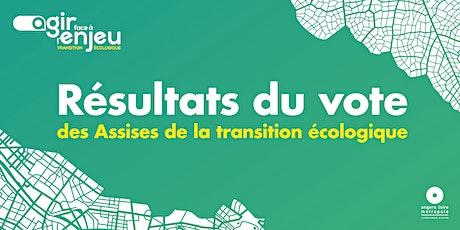 Résultat du vote des Assises de la transition écologique billets