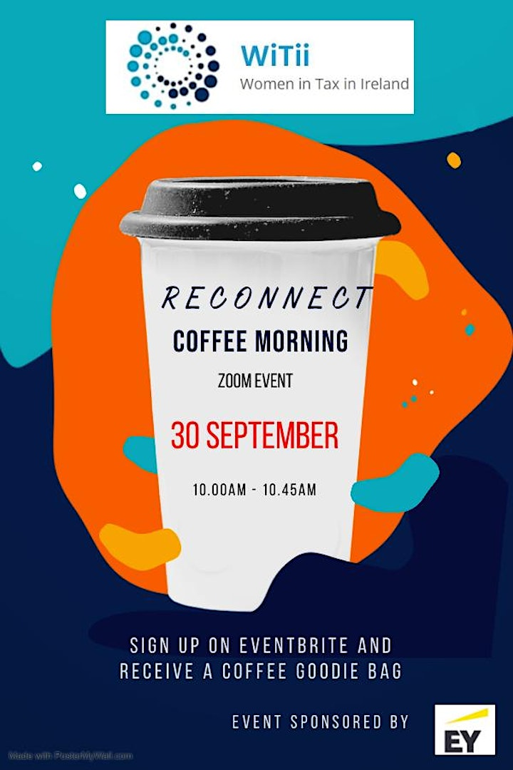 WiTii  - Reconnect Virtual Coffee Morning image
