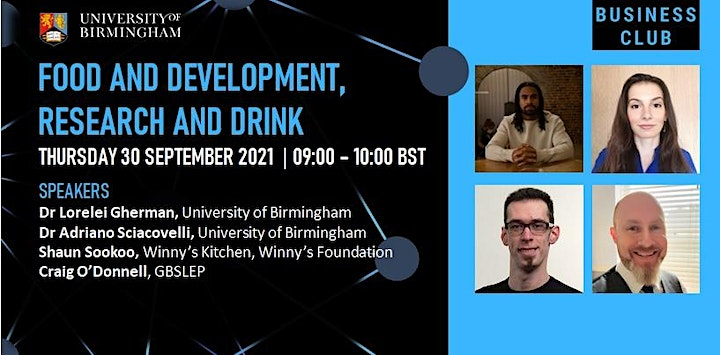 Food and Development, Research and Drinks image