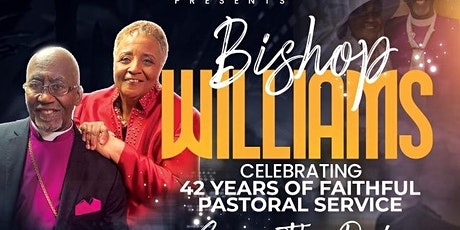 Bishop John M. Williams, Jr.'s Retirement Banquet tickets
