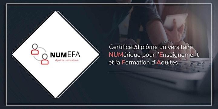 Image pour Soirée de lancement du NUMEFA : formation supérieure en technopédagogie