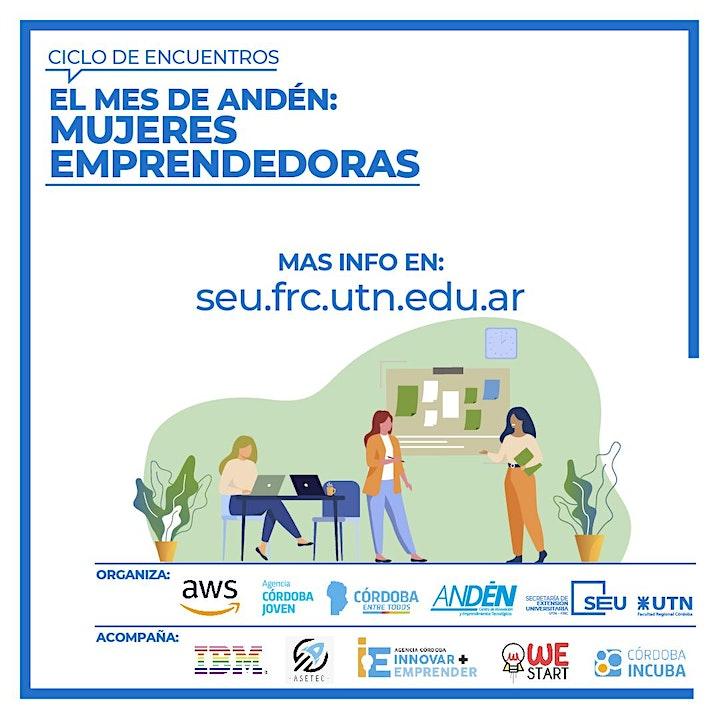 "Imagen de Mes de Andén 2021: ""Mujeres Emprendedoras"""