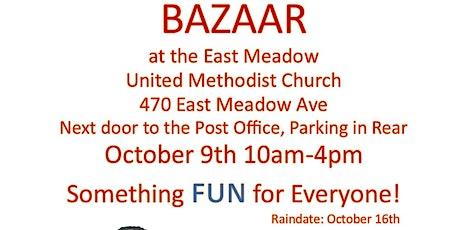 Outdoor Bazaar vendors, food, activities for kids tickets