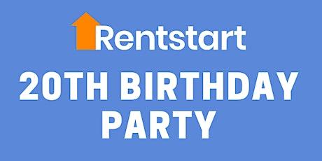 Rentstart's 20th Birthday Party tickets
