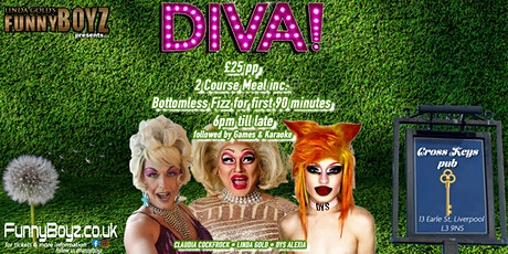 DIVAS - A Drag Dining Experience ( 2 Course Meal ) tickets