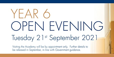 The Priory Ruskin Academy Open Evening 2021 tickets
