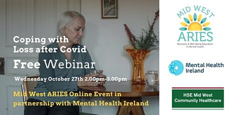 Free Webinar: Coping with Loss After Covid tickets