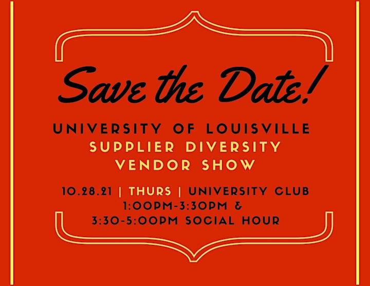 University of Louisville Supplier Diversity Vendor Show