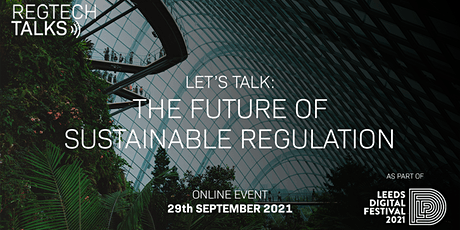 Let's Talk: The Future of Sustainable Regulation tickets
