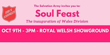 SOUL FEAST - The Inauguration of Wales Division tickets