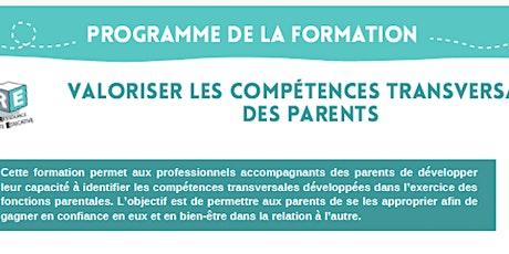 FORMATION : Valoriser les compétences transversales des parents billets