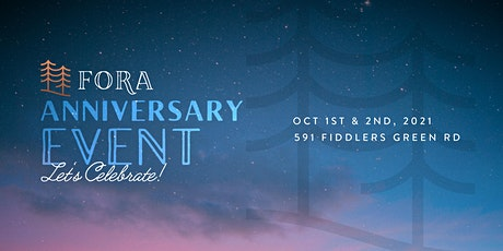 Fora Outdoor Living's 2nd Anniversary Event tickets