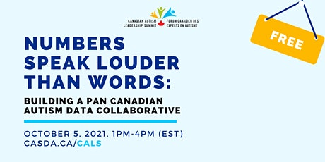 CASDA Pre-Summit Meeting: Building a Pan-Canadian Autism Data Collaborative tickets
