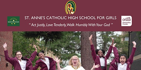 St. Anne's Catholic High School for Girls Open Mornings 2021 tickets