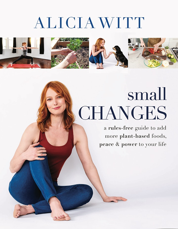 """Alicia Witt """"Small Changes"""" Book Launch image"""