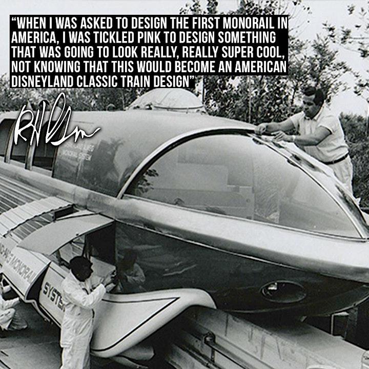 Celebrate, Disney Legend/Imagineer Bob Gurr's 90th Birthday image