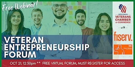 Veteran Entrepreneurship Forum (Virtual) tickets