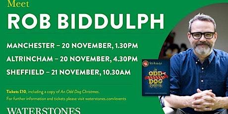 Meet Rob Biddulph - Altrincham tickets