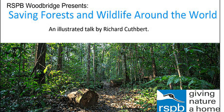 RSPB Woodbridge: Saving Forests and Wildlife Around the World tickets