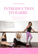 Introduction to Barre tickets