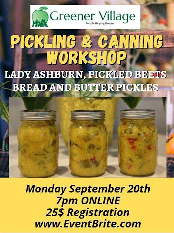 Pickling & Canning Workshop image