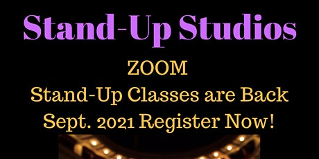 Stand-Up Comedy Class Sundays- All Levels Includes Zoom Showcase Online tickets