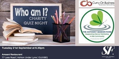 Curry On Business - Charity Quiz Night tickets